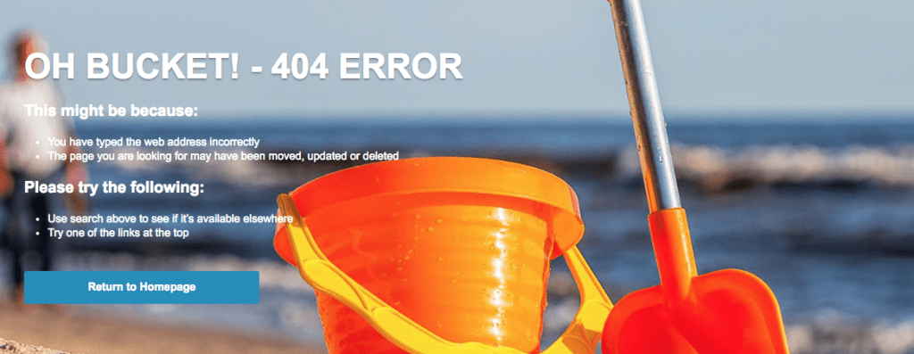404 error increase bounce rate and affect SEO score