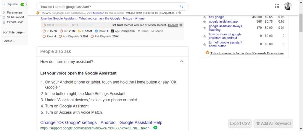 optimised content for voice search query