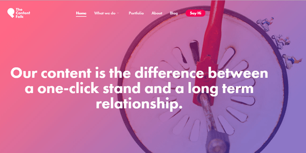 using the same colors for your background and cta affects conversion