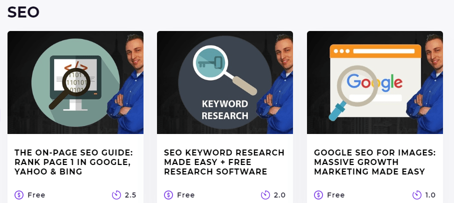 free SEO courses from spocket during covid 19