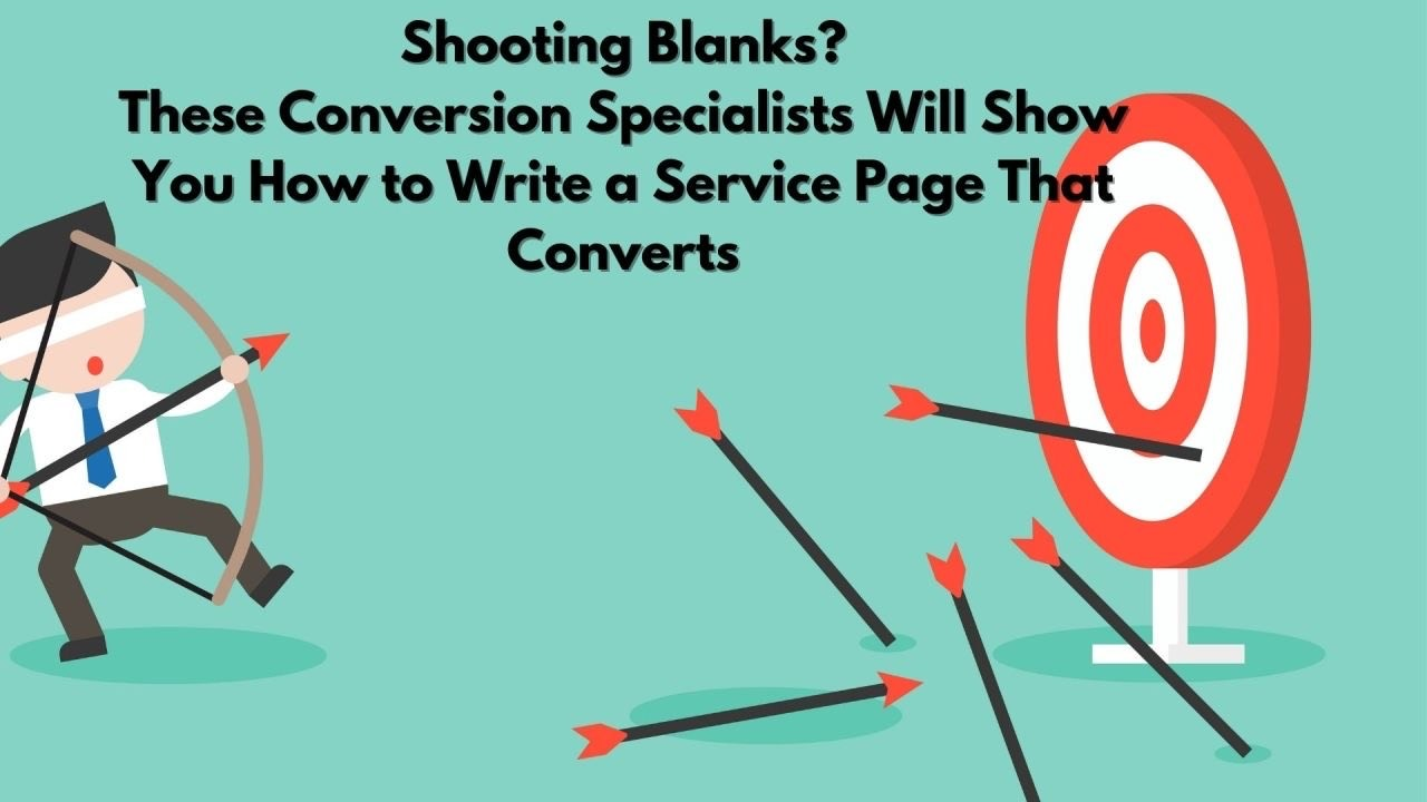 write service page content that converts