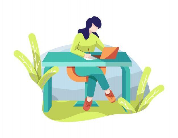 girl-working-laptop-office-vector-illustration_80802-80